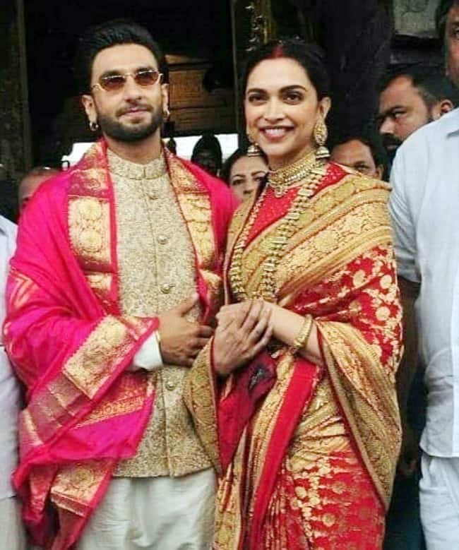 Deepika Padukone and Ranveer Singh s wedding anniversary