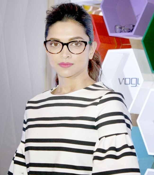 Deepika Padukone at the launch Vogue eyewear