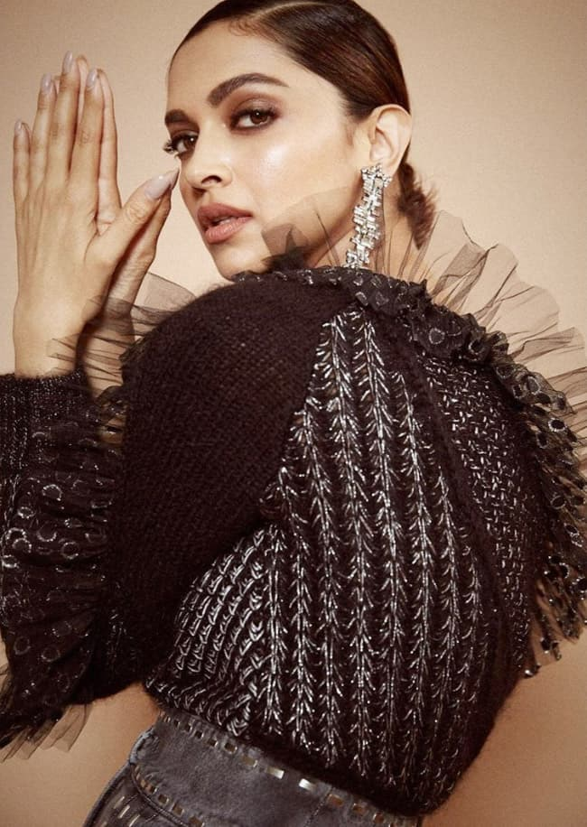 Deepika Padukone comes out with  The Black Edit