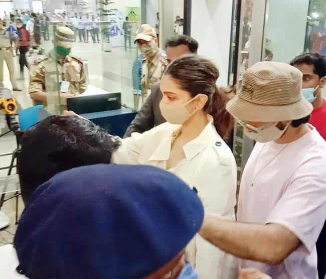 Deepika Padukone reaches Mumbai after being summoned by the NCB