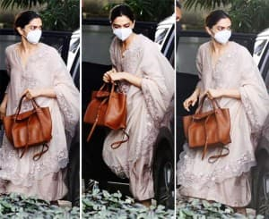Deepika Padukone Reaches NCB Office For Interrogation on Drugs Chat: See Pics