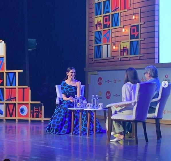 Deepika Padukone shares knowledge at Jio MAMI Film Festival