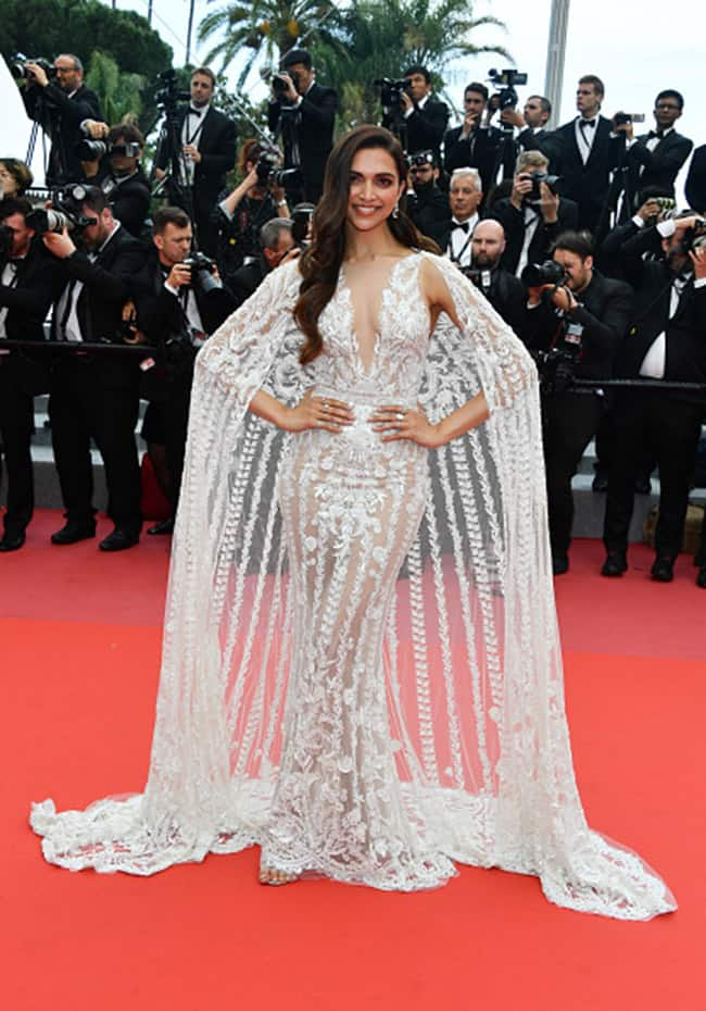 Deepika Padukone snapped at red carpet of Cannes Film Festival 2018