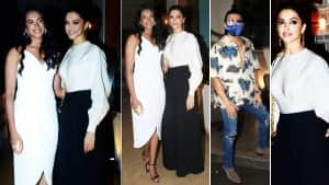 Deepika Padukone To Play PV Sindhu In Latter's Biopic? Duo Step Out For Intimate Dinner Night, Ranveer Singh Joins   See Pics