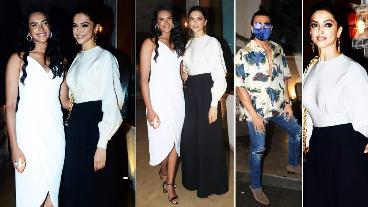 Deepika Padukone Spotted With PV Sindhu For Dinner Night  Actor To Play Ace Badminton Player In Biopic