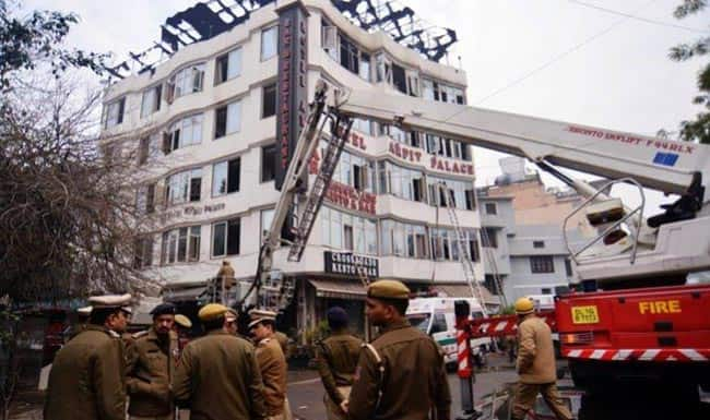 Delhi Hotel Fire  Emergency Doors Closed  Many Died of Suffocation   All You Need to Know