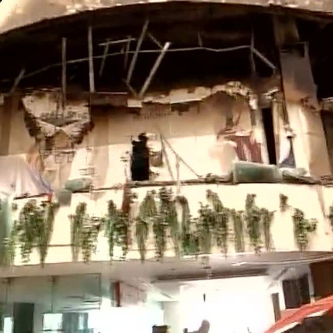 Delhi   s Welcome hotel gutted in fire