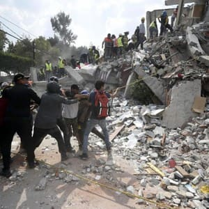 IN PICS: Devastation caused by 7.1 intensity earthquake in Mexico city