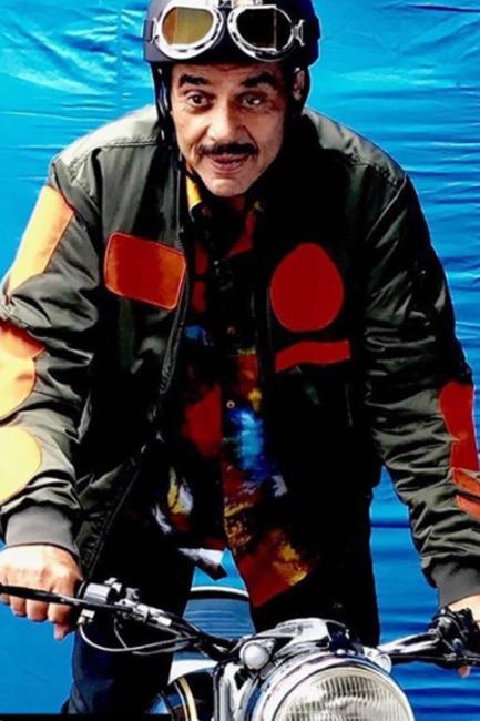 Dharmendra shooting for Yamla Pagla Deewana 3