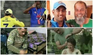 Times Dhoni Showed he is Much More Than Just a Cricketer | PICS