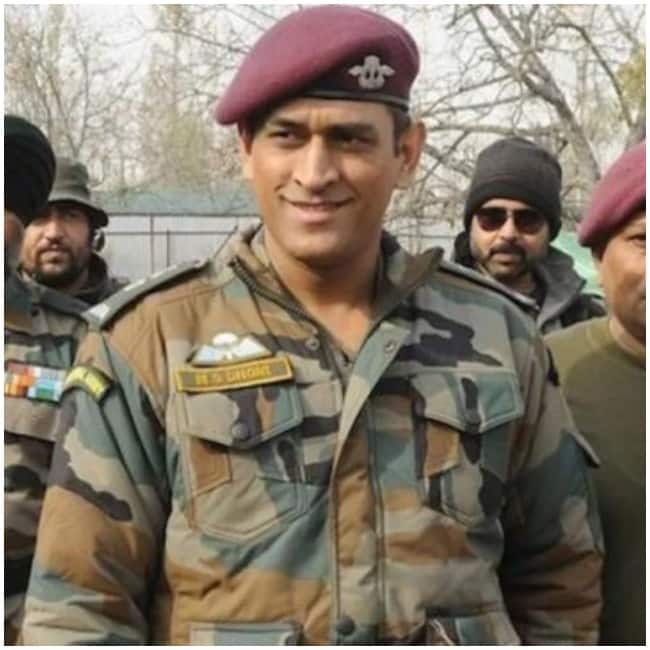 Dhoni is a huge admirer of the Indian Army