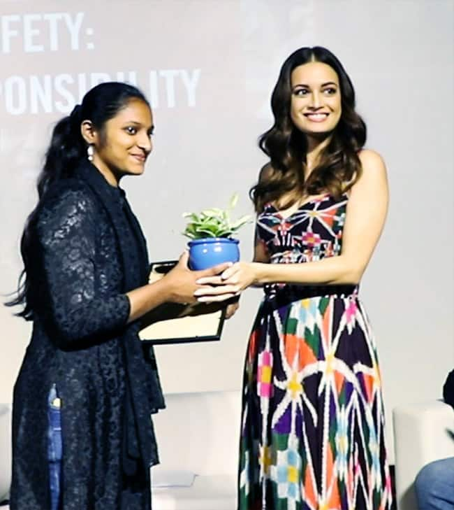 Dia Mirza attends  Save The Children  event