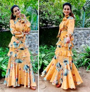 Fans Wonder if Dia Mirza in Her Wonderland? See Diva's Stunning Pictures in Yellow Dress And Eye Grabbing Caption