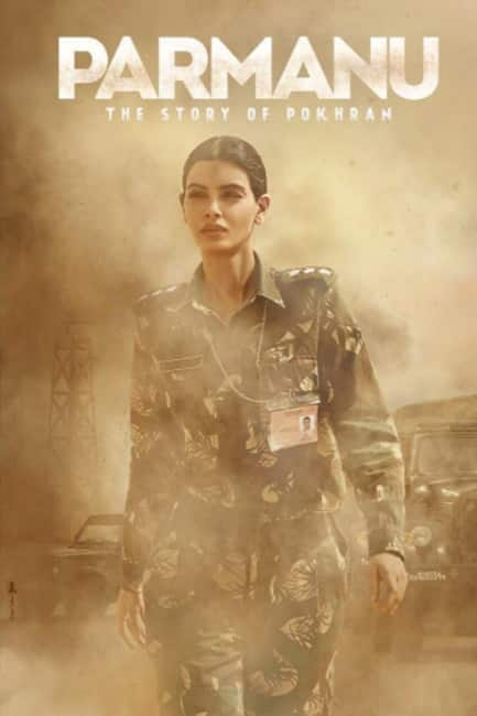 Diana Penty   s first look from Parmanu  The Story of Pokhran movie
