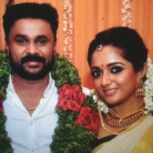 Malayalam actors Dileep and Kavya Madhavan tie knot in Kochi, see pics