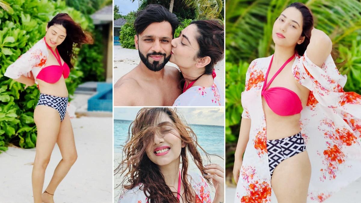Disha Parmar Vacays In the Maldives With Hubby Rahul Vaidya