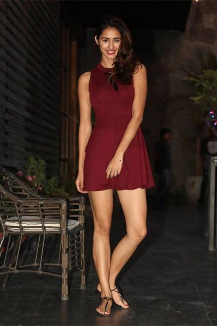 Disha Patani flaunting hot legs during sexy shoot