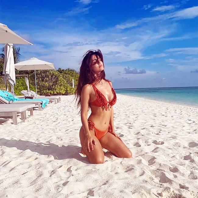 Disha Patani HOT Latest Photos from Maldives vacation 2021