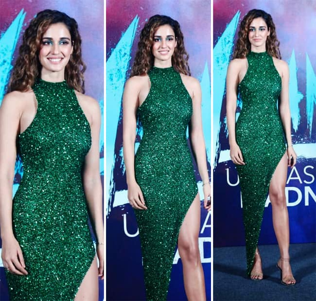 Disha Patani S Sexy Green Dress Adds Hot Glam Quotient Disha Patani S Sexy Green Dress Adds Hot Glam Quotient At Malang Trailer Launch Event Celebs Photo Gallery India Com Photogallery