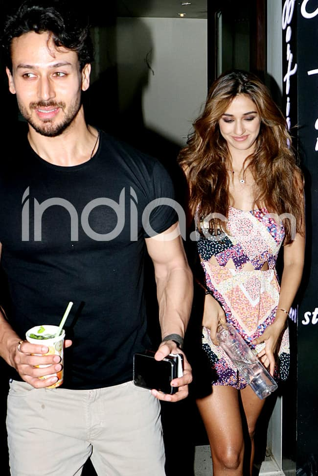 Disha Patani  Tiger Shroff Go Out For Romantic Dinner Date on Sunday