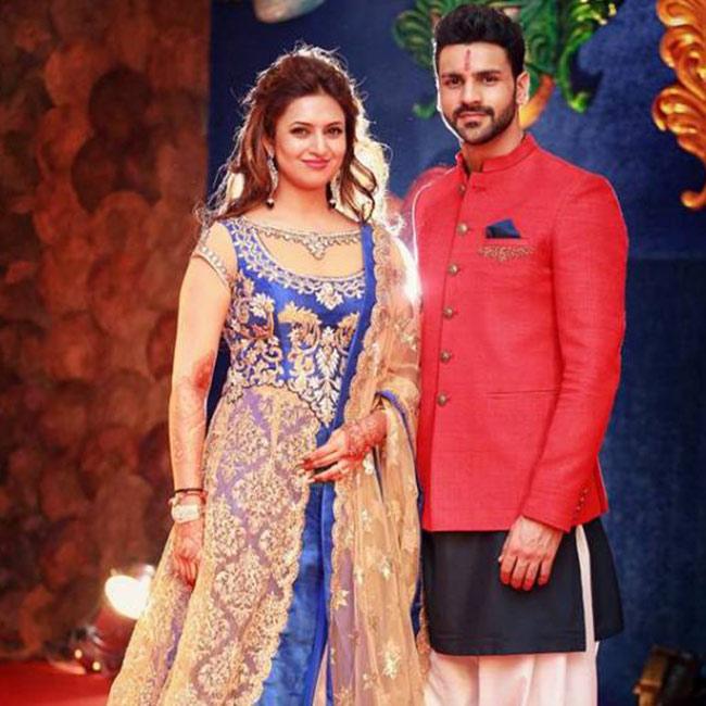 Divyanka Tripathi and Vivek Dahiya as the first contestant of Nach Balliye 8