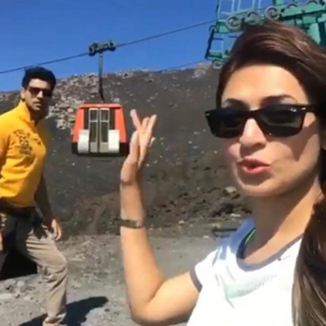 Divyanka Tripathi and Vivek Dahiya   s fun in Italy