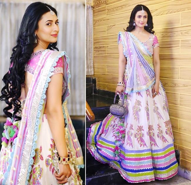 Divyanka Tripathi Looks Jaw dropping Gorgeous in Lehenga Look