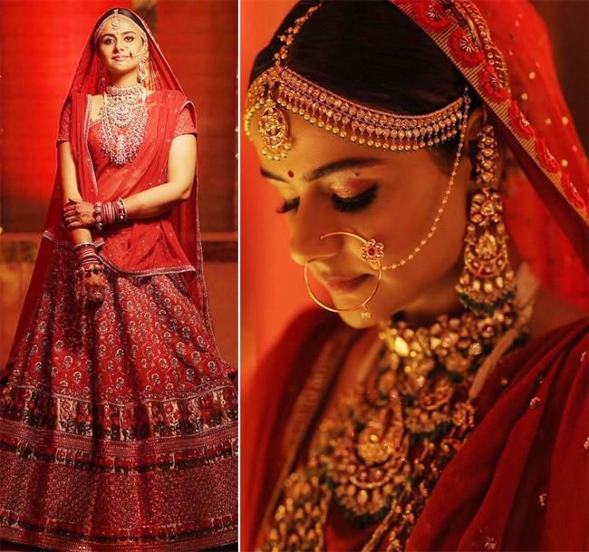 Diya Aur Baati Hum Actor Prachi Tehlan Looks Gorgeous as Bride
