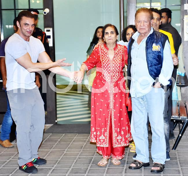 Double celebrations for the Khan family