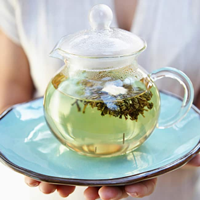 Drink 3 to 4 cups of green tea daily to cut down fat