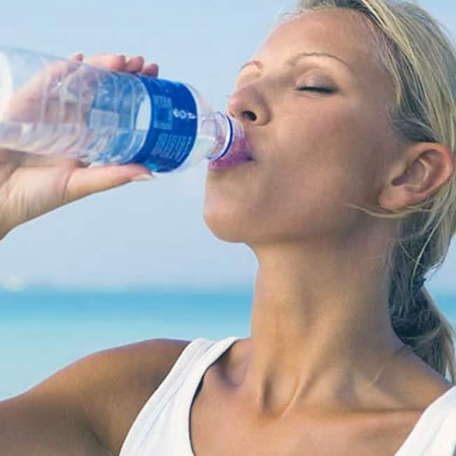 Drink loads and loads of water
