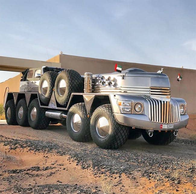 Dubai Sheikh Builds World   s Biggest SUV named    Dhabiyan    And it is no Less Than Transformer