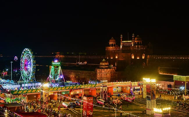 Dussehra celebrations from Red Fort