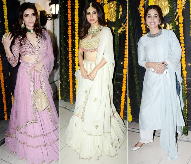 Ekta Kapoor throws a Diwali party  Here are the pictures
