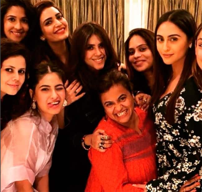 Ekta with her girl gang at the premiere of Home