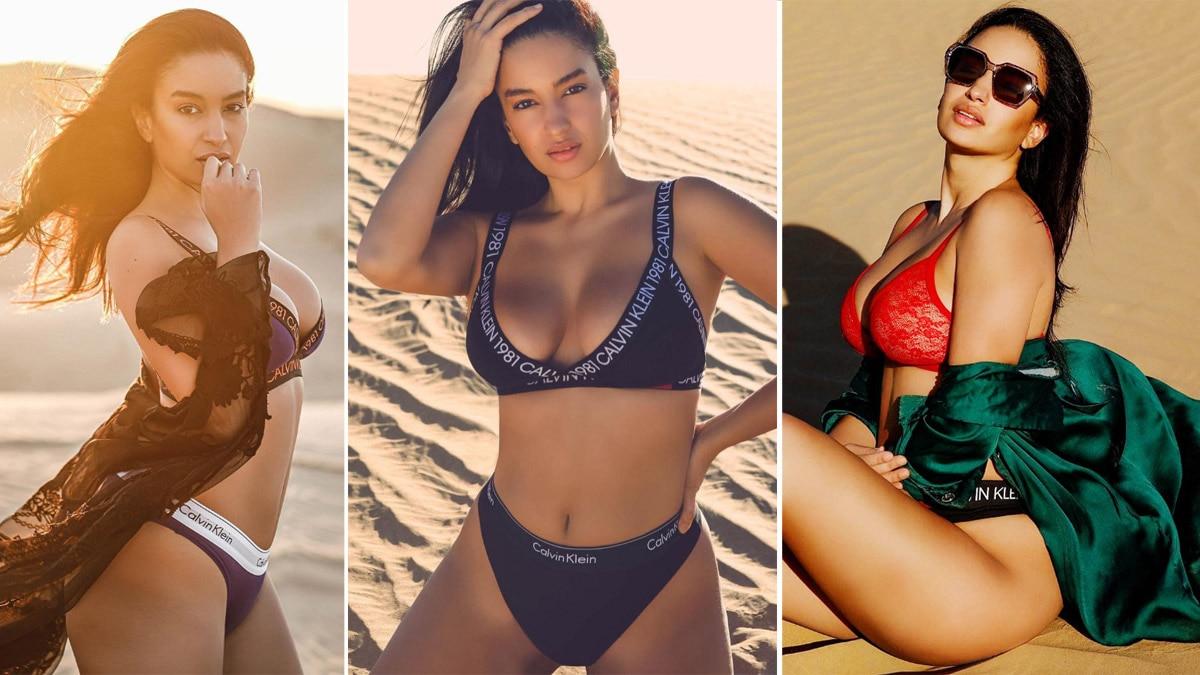 Elena Fernandes    Bold Pictures From Dubai   s Desert Raises Temperatures Soaring