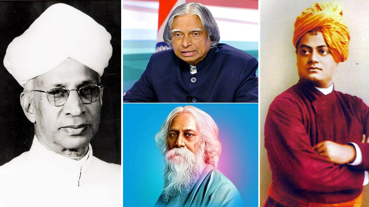 Eminent and Great Indian Teachers