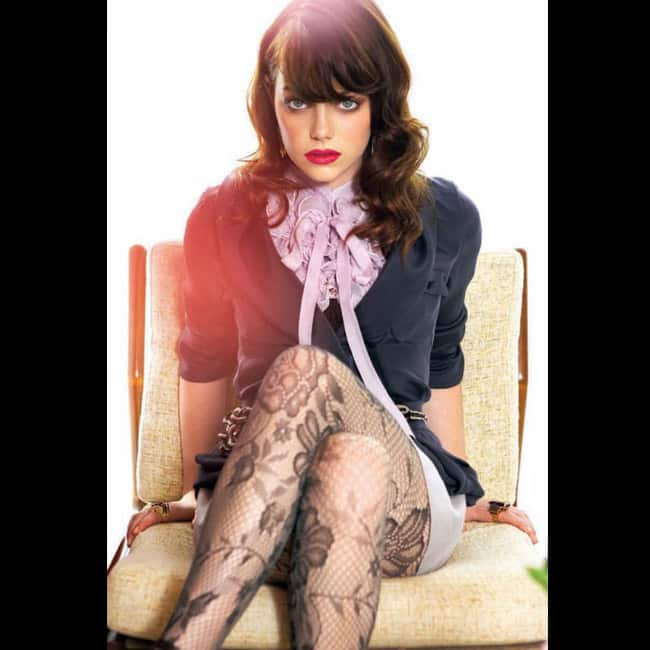 Emma Stone Showing Off Sexy Legs