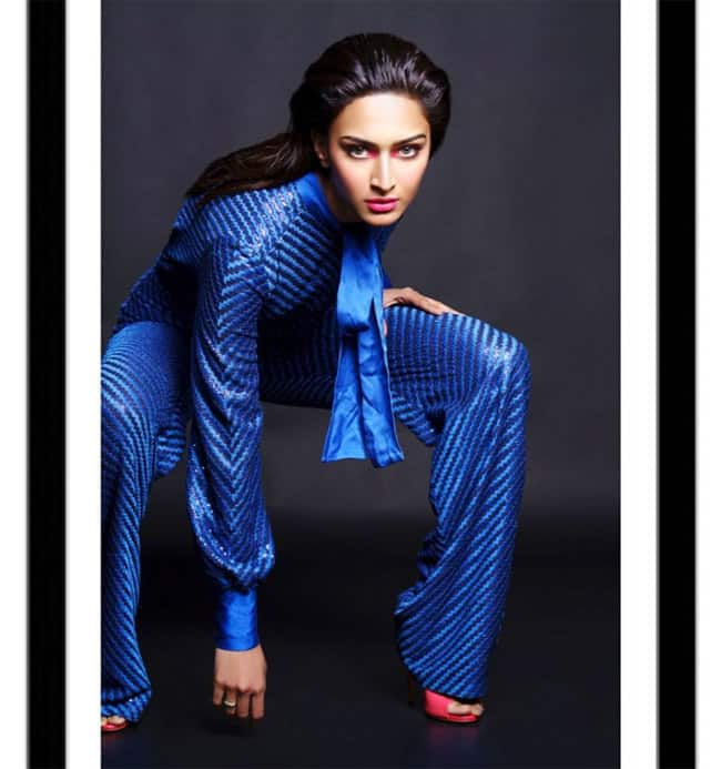 Erica Fernandes goes blue and glamorous in this photoshoot