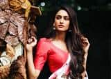 Erica Fernandes Aka Prerna Bajaj Ups The Glam Quotient in Sexy Floral Saree