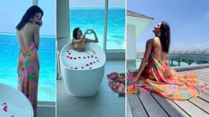 Erica Fernandes's Pictures From Maldives Vacay in Bold Floral Dress is Too Hot To Handle!