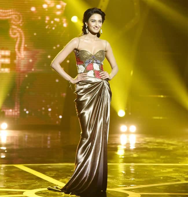 Erica Fernandes wears a gorgeous gown to Star Parivaar Awards 2020