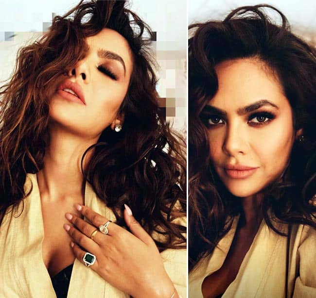 Esha Gupta Looks Smoking Hot in Her Latest Sultry Photoshoot