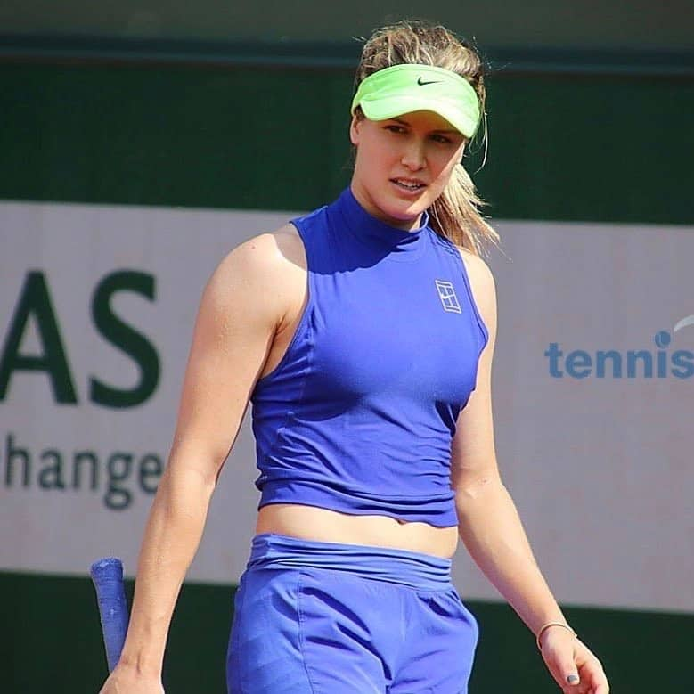 Eugenie Bouchard   Tennis Real  Genie