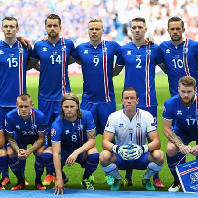 EURO 2016  Iceland  is the smallest nation ever to qualify for the quarter finals