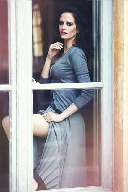 Eva Green poses for a seductive picture