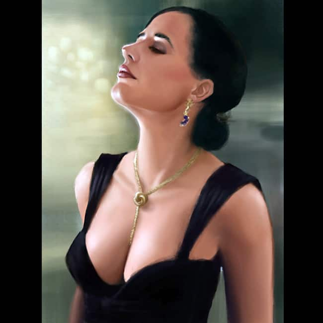 Eva Green poses for a smoking hot picture