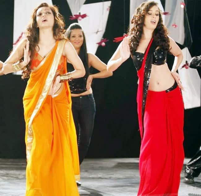 Evelyn Sharma s sexy saree clad photos