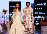 Farhan Akhtar , Shibani Dandekar Spell Magic as They Walk The Ramp at Lakme Fashion Week 2019