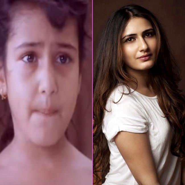 Fatima Sana Shaikh as a cute little girl from    Chacshi 420